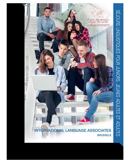 Brochure des séjours linguistiques d'exceptions organiser par Ila.