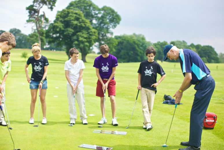Cours de golf en anglais